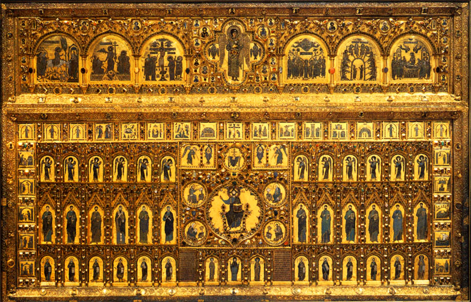Золотой Дворец: pala d'oro